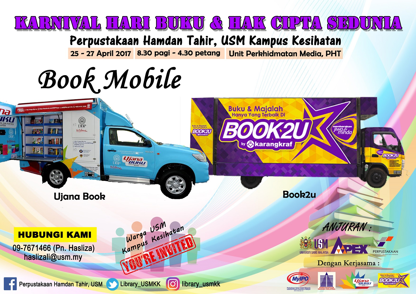Poster Book Mobile